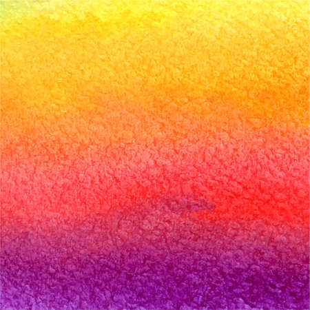vector watercolor background in pink, orange, yellow and violet colors