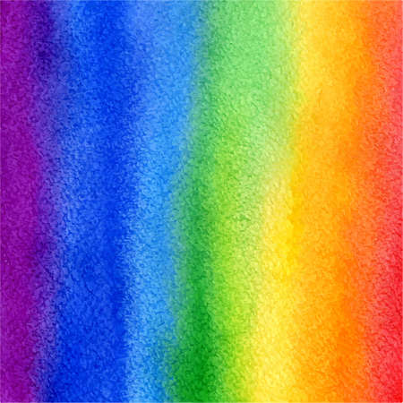 vector watercolor vertical abstract colorful rainbow background