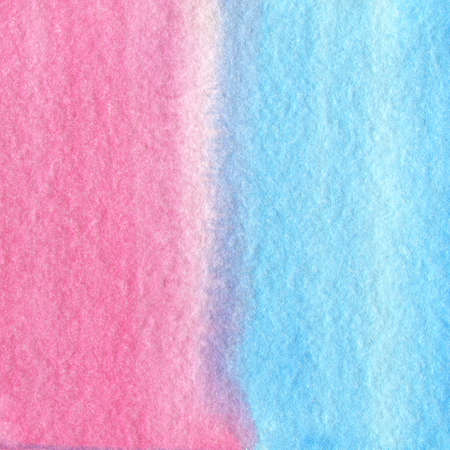 gentle: Gentle blue and pink gradient hand drawn watercolor background.