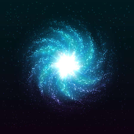 resplandor: Hermosas estrellas brillantes abstractas. Vectores