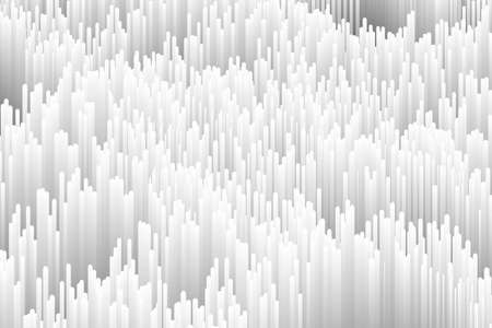 Data distortion background. Vector abstract glitch effect. Trendy generative monochrome illustration. Broken data concept.