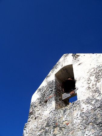 17th: An angular look at a 17th century belltower.