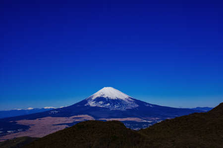 Fuji mountain in fine weather