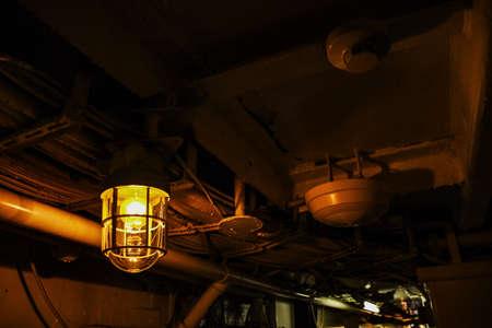 機械室のライト