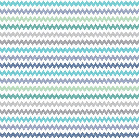 masculine: Seamless vector hipster geometric background pattern with chevron zigzag design in blue green and gray Masculine pattern for boys babies gift wrapping paper textiles and scrapbooking.