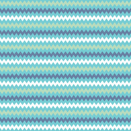 baby scrapbook: Seamless vector hipster geometric background pattern with chevron zigzag design in blue green and navy. Masculine pattern for boys babies gift wrapping paper textiles and scrapbooking.
