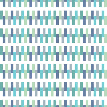 green day baby blue background: Seamless vector hipster geometric background pattern in aqua blue green navy and white. Masculine pattern for boys babies gift wrapping paper textiles and scrapbooking. Light grunge overlay.