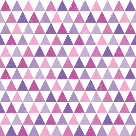 pattern geometric: seamless hipster background with geometric triangles pattern in pink and purple