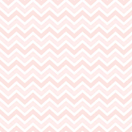 Seamless geometric pastel background in living coral, blush pink and white. Cute chevron stripes pattern for baby, girls, gift wrapping paper, textiles, wallpaper. 일러스트