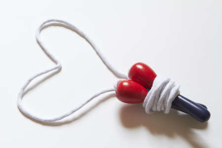 Skipping Rope With Heart Shape photo