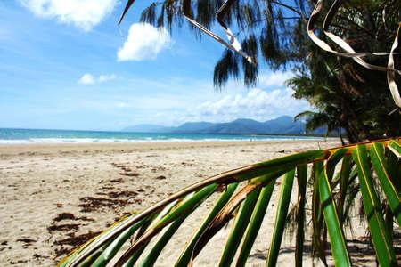 port douglas: Australia  Port Douglas  Four mile beach Stock Photo