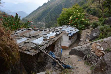 kali: House in Nepal,Kali Gandaki Valley, annapurna Area