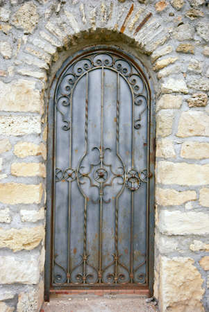 detail of an old church or castle door Stock Photo - 11323306