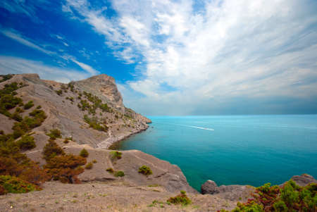 Green Bayl and Golitsyn trail  Crimea,  Stock Photo - 13831755