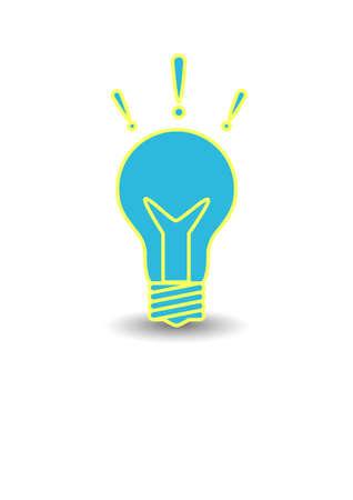 Vector icon light bulb Stock Vector - 16799182