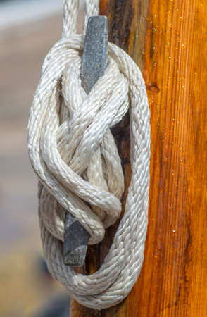 Knot of rope - part snap vessel photo