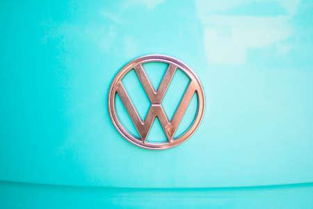 Chonburi Thailand - January 29th 2017 Close up of Volkswagen