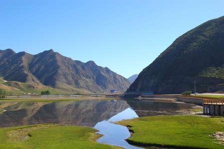 placid lake in China
