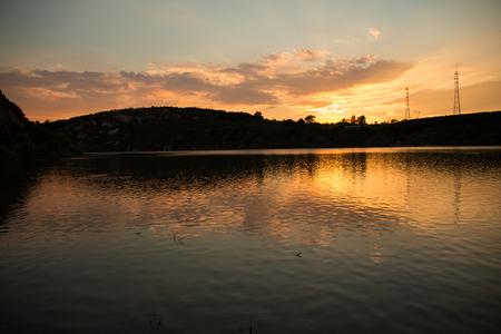 sunset lake: Sunset Lake