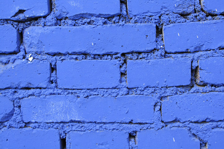 brick background: Blue Brick Wall