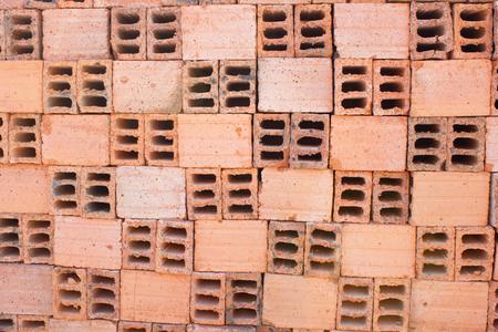 Hollow bricks photo