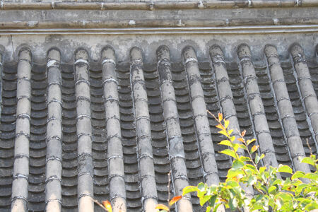 Roof tiles photo