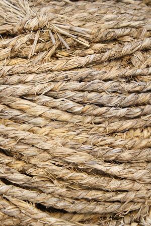 bonding rope: Grass rope