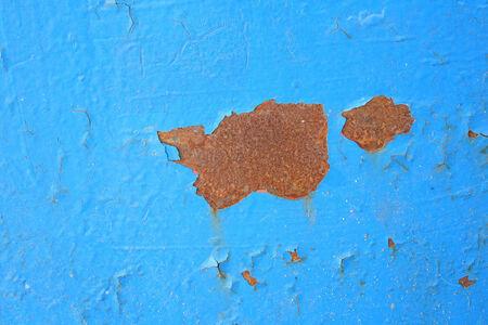 rundown: Metal rust Stock Photo