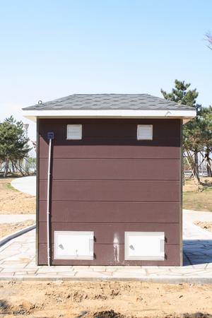Mobile toilets photo