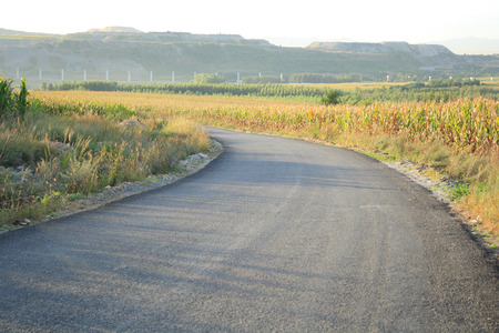Country side road photo