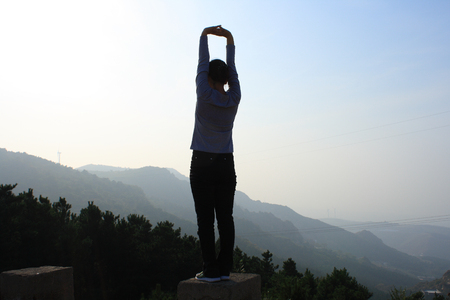 Woman Silhouette photo