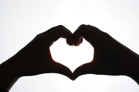 heart hand photo