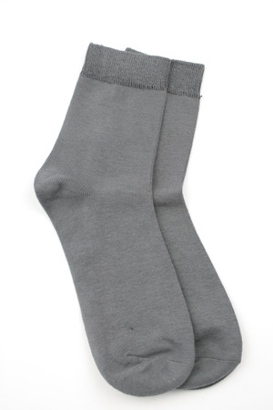 Gray socks photo