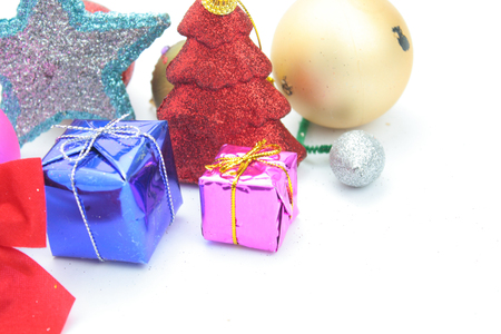 Christmas ornaments photo