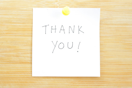 Thank You Note photo