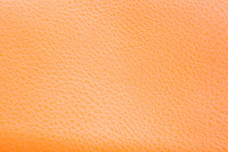 Closeup of brown leather texture photo