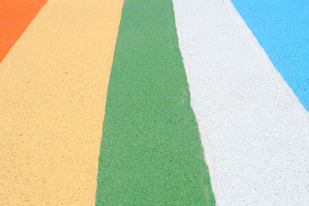 Colorful pavement photo