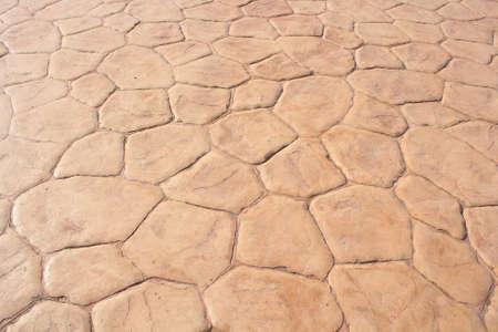 the concrete: Paving stones Stock Photo
