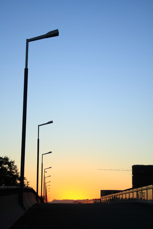 Streetlights Silhouette photo
