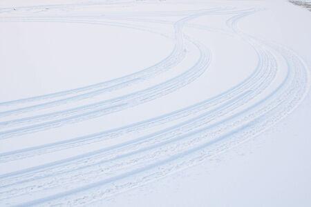 Tire tracks photo