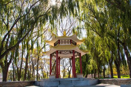 yat sen: pavilion Stock Photo