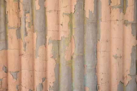 interstice: stone wall with old paint