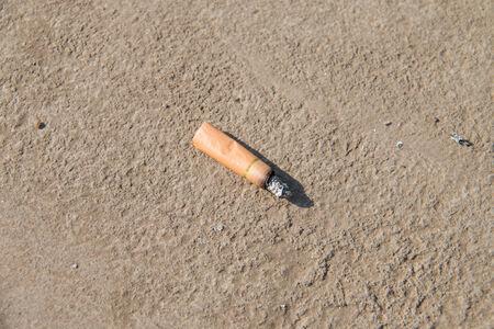 Cigarette end photo