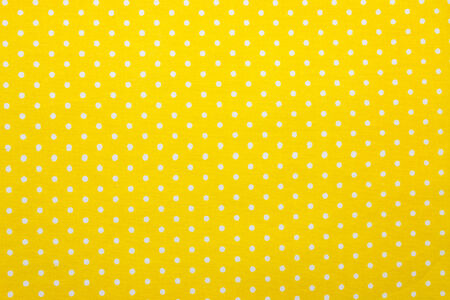 yellow polka dot fabric photo