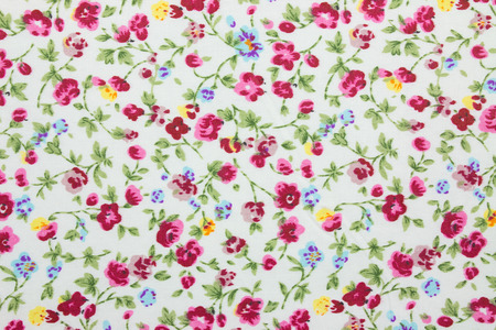 floral fabric background photo