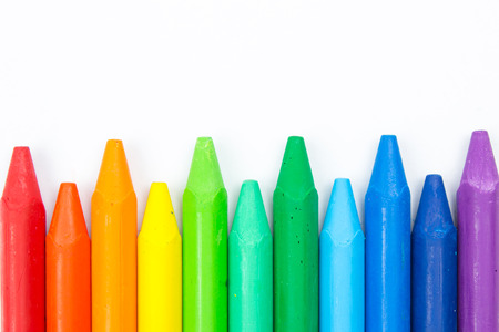 Colorful crayons Stock Photo - 35804505