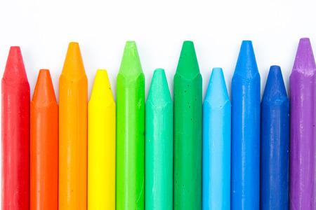 crayons: Colorful crayons Stock Photo