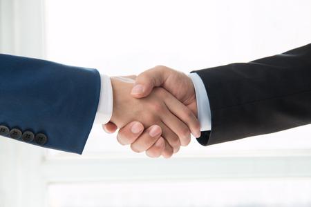 Handshake business: business people handshaking