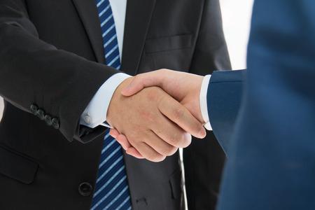 ビジネス人ハンド シェーク