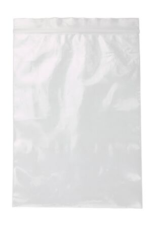 plastic bag on a white background Banque d'images